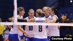 Казахстанская женская сборная по волейболу. Иллюстративное фото.