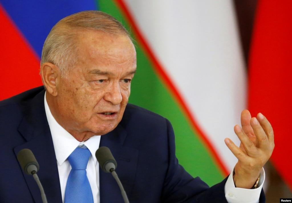 Uzbek President Islam Karimov suffers a brain haemorrhage