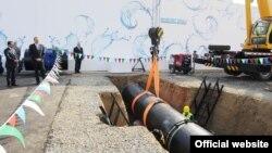 В Азербайджане заложили фундамент Ширван-Муганской водопроводной системы. В церемонии принял участие Ильхам Алиев