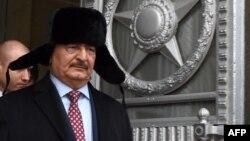 Libyan military commander Khalifa Haftar