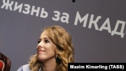 Ksenija Sobčak, javna ličnost i TV zvjezda, budući predsjednički kandidat