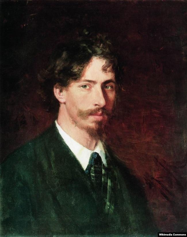 Український художник Ілля Рєпін (Ріпин). Автопортрет. 1878 рік