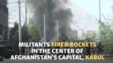 Militants Launch Rockets Near Afghan Presidential Palace