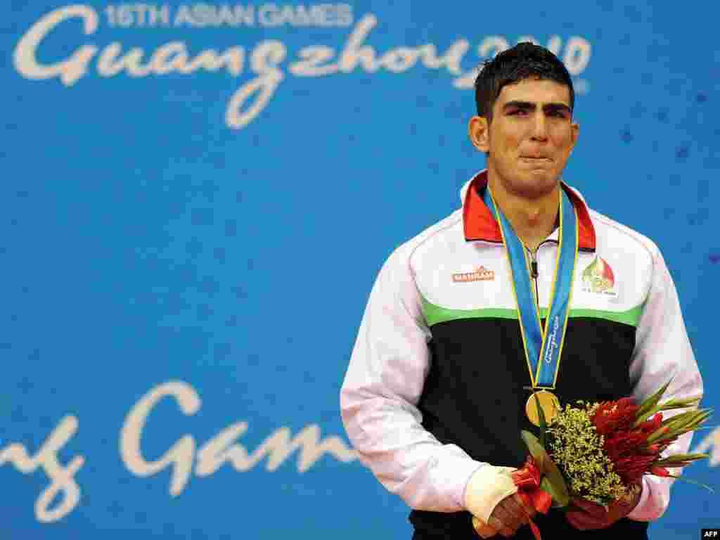 محسن محمدسیفی، برنده مدال طلای رشته ساندا - گوانگژو، چین