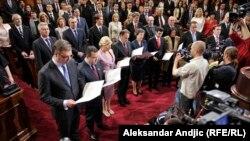 Polaganje zakletve u Skupštini Srbije