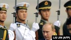 Президент Путін під час поїздки до Пекіна, 11 жовтня 2011 року