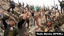 Боевики в Сирии. Иллюстративное фото.