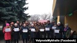 Жены шахтеров объявили голодовку