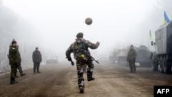 Ukrainë, 15 shkurt 2015.