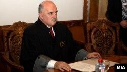 Државниот јавен обвинител Марко Зврлески даде свечена изјава во Собранието на 24 јануари 2013 година.