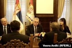I predsednik Srbije Tomislav Nikolić susreo se sa ruskim diplomatom Bogdanovim