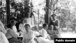 Имение Борщень. Семья Евреиновых 1915 г.