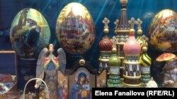 Арбатская витрина: православие и народность