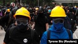 Protestele din Hong Kong s-au soldat cu violențe
