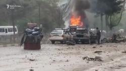Sulmohen automjetet e NATO-s në Kabul