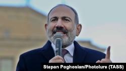 Арманистон Бош вазири Никол Пашинян.