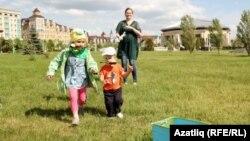 """""""Сабыйга"""" үзәге үткәргән балалар Сабантуе. 2015"""