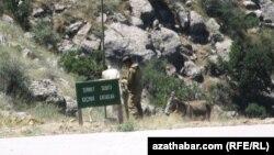 Türkmenistanyň Eýran bilen döwlet araçägi
