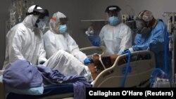 آرشیف، بیمار ویروس کرونا در امریکا