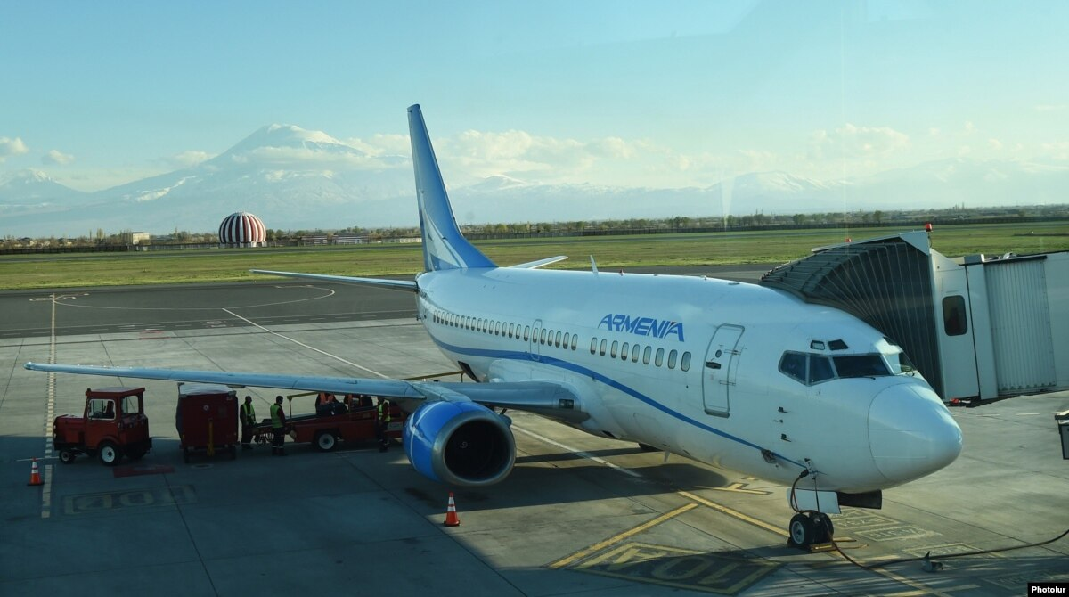 Resultado de imagen para Zvartnots International Airport airplanes