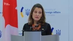 Україна ще не просила Канаду про експорт зброї – Фріланд (відео)