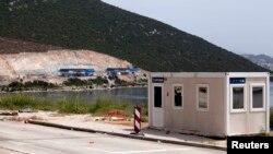 Granični punkt na putu za Neum
