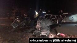 Смертельное ДТП с полицейскими в Крыму, 2 февраля 2021 года