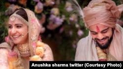 انوشکا شرما ستاره سینما هند و شوهرش ویرت کوهلی