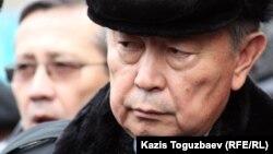Нұртай Әбіқаев ҰҚК төрағасы кезінде. Алматы, 3 қаңтар 2013 жыл.