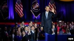 ABŞ-nyň prezidenti Barak Obama, Çikago, 10-njy ýanwar, 2017.