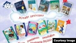 Reyhan Yusifqızı Şıxlinskayanın uşaqlar üçün yazdığı kitabları.