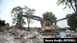 Demoliranje naselja Savamala, 28. april 2016.