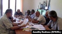 Azərbaycan Kinematoqrafçılar İttifaqının iclası