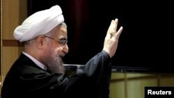 Иранский президент Хасан Роухани.