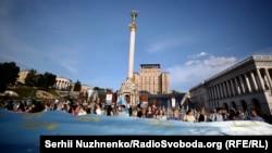 Майдан Незалежності, Київ, 26 червня 2018 рік