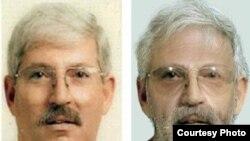 تصویر شبیهسازی شده توسط کامپیوتر از رابرت لوینسون دو سال پس از ناپدید شدن (سمت راست)