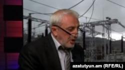 Արամ Մանուկյանը «Ազատության» ստուդիայում, արխիվ: