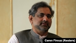 Pakistani Prime Minister Shahid Khaqan Abbasi (file photo)
