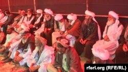 خیمه تحصن در هرات
