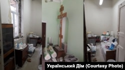 Помещения собора ПЦУ в Симферополе
