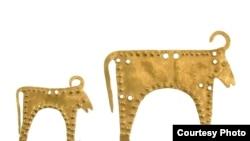 ხარების ზოომორფული ფიგურები ვარნის მუზეუმიდან (ჩვენს წელთაღრიცხვამდე მე-4-მე-5 ათასწლეულები)