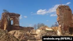 Гальшанскі замак, здымак 2013 году