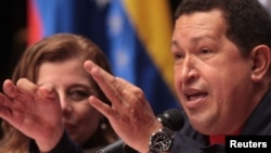 "Venezuelan President Hugo Chavez said that thanks to Venezuelan oil supplies, ""Belarusian refineries will have no shortages for the next 200 years."""