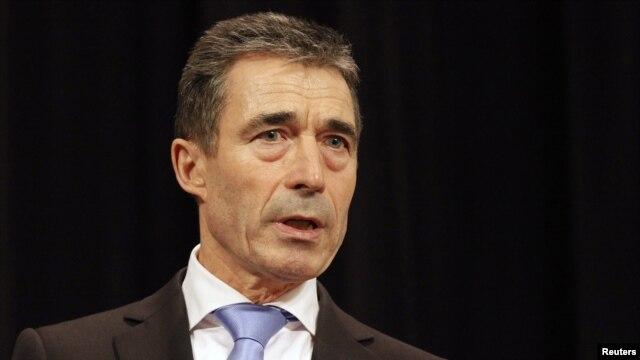 Glavni taknik NATO-a Anders Fogh Rasmussen, februar 2012. godina