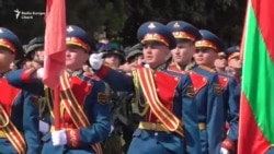Репетиция военного парада в Тирасполе