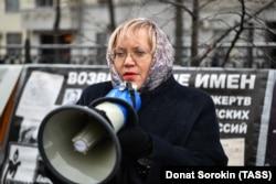 Regional rights ombudswoman Tatyana Merzlyakova (file photo)