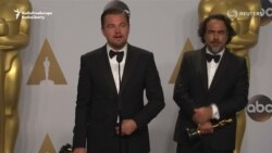 DiCaprio, Other Oscar Winners Talk About Their Big Night
