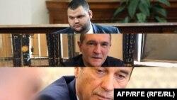 Делян Пеевски, Васил Божков и Илко Желязков