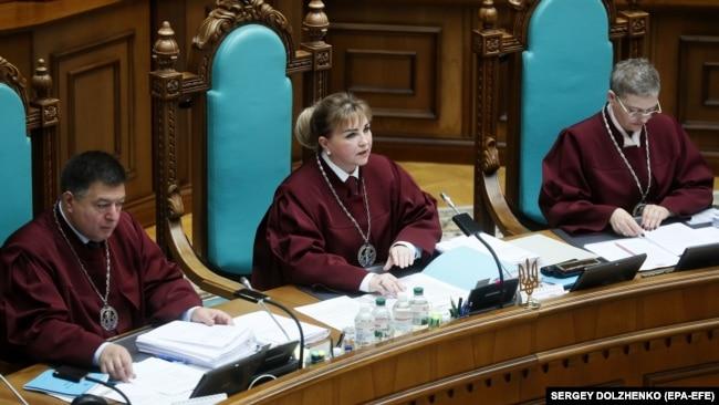 Суд послався на те, що за Конституцією «носієм суверенітету і єдиним джерелом влади в Україні є народ»