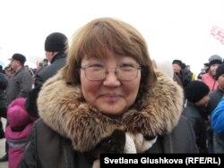 Газизат Имакова, жительница Астаны. 22 марта 2013 года.